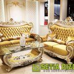 Kursi Sofa Tamu Ukiran Klasik Mewah