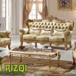 Kursi Sofa Tamu Mewah Klasikan Jepara