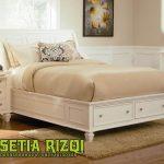 Tempat Tidur Anak Modern Minimalis Mahoni Jepara