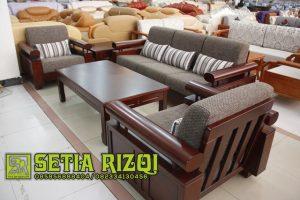 Sofa Ruang Tamu Mewah Putih Duco Modern