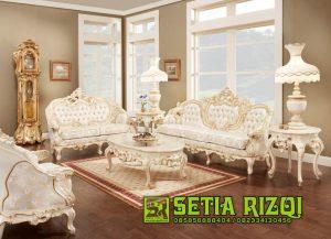 Sofa Ruang Tamu Ukiran Klasik Mewah