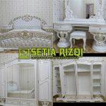 Set Tempat Tidur Minimalis Duco Antik Jepara