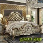 Set Tempat Tidur Klasik Mewah Minimalis Jepara