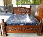 Tempat Tidur Klasik Minimalis Jepara
