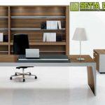 Meja Kantor Modern Minimalis Jepara