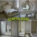 Set Tempat Tidur Ukiran Mewah Minimalis Jepara