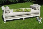 Kursi Sofa Tamu Klasik Putih Duco Minimalis Jepara