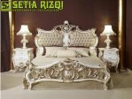 Set Tempat Tidur Jati Klasik Minimalis Jepara