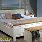 Set Tempat Tidur Modern Minimalis Mahoni Jepara