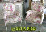 Kursi Teras Klasik Putih Duco Minimalis Jepara