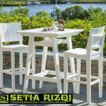 Kursi Cafe Cat Duco Klasik Minimalis Jepara