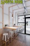 Kursi Cafe Klasik Putih Duco Minimalis Jepara