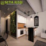 Kitchen Set Klasik Putih Duco Minimalis Jepara