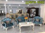Kursi Sofa Cat Duco Klasik Minimalis Jepara