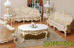 Kursi Sofa Tamu Cat Duco Klasik Minimalis Jepara