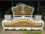 Tempat Tidur Cat Duco Klasik Minimalis Jepara