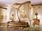 Tempat Tidur Jati Gold Elegant