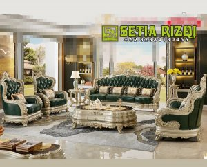 Set Sofa Tamu Classic Royal Living Room